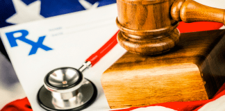 health care mandate gavel