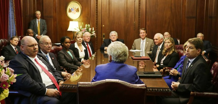Alabama Gov. Kay Ivey holds first Cabinet Meeting