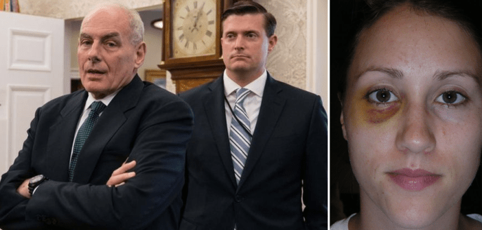John Kelly_Rob Porter_abuse