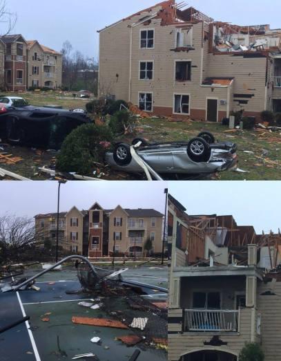 jacksonville state storm damage