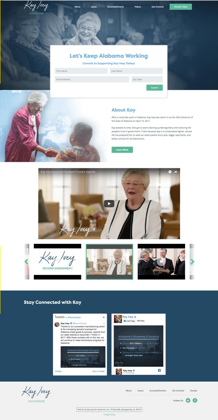 Kay Ivey website_homepage