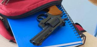gun at school