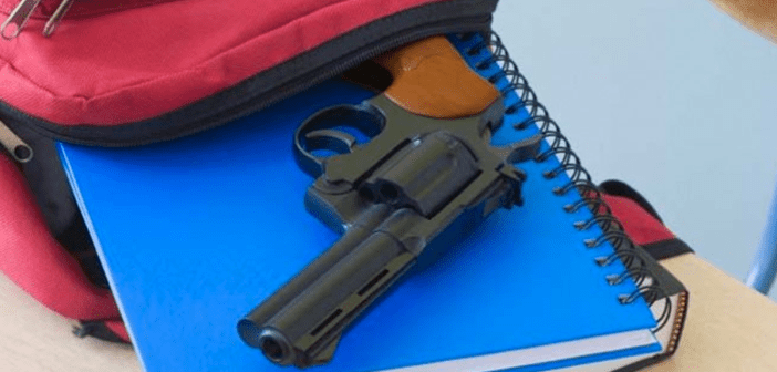gun at school