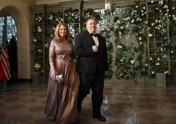 Mike and Susan Pompeo