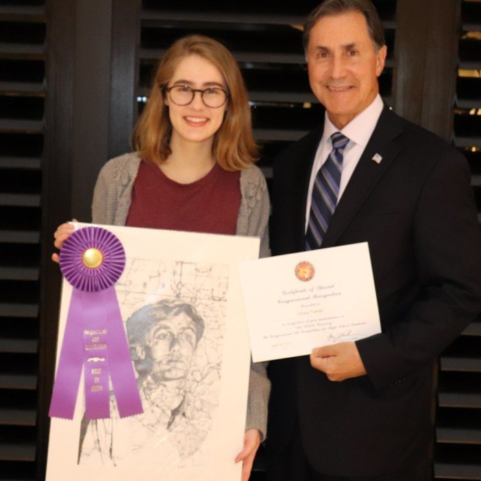 Grace Varner_Gary Palmer_Art competition 2018