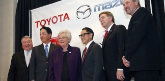 Ivey, Cranfield, Battle Toyota Mazda