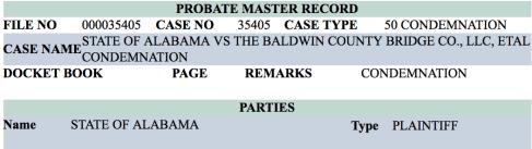 BCBC Complaint filed