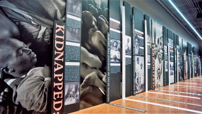 Slavery-Evolved-Wall-of-The-Legacy-Museum