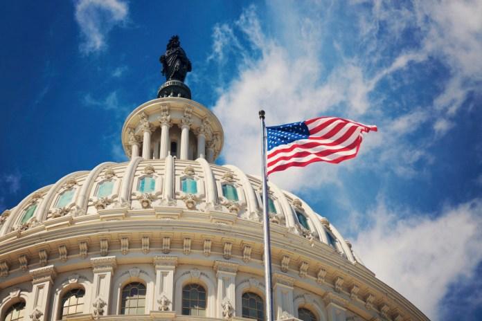 US Capitol_American Flag