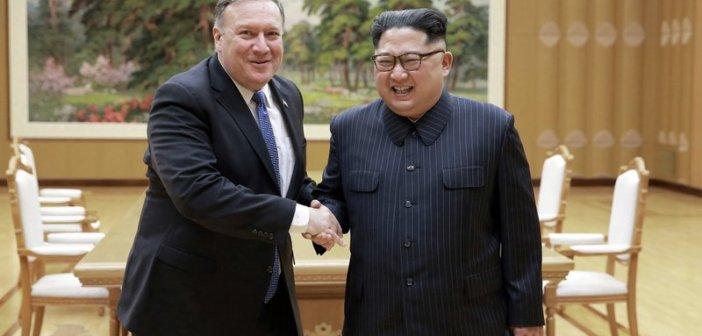 Mike Pompeo/ Kim Jong Un