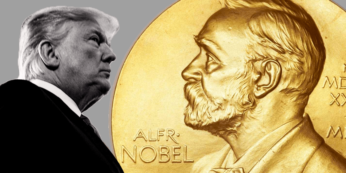 Only a quarter in new poll say Trump should get Nobel