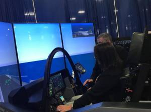 Roby in simulator
