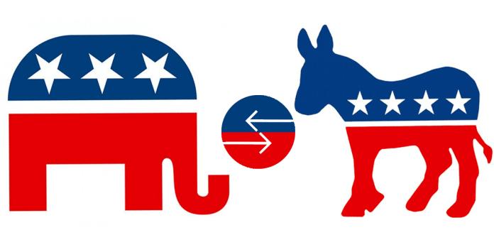 crossover voting_republican or democrat