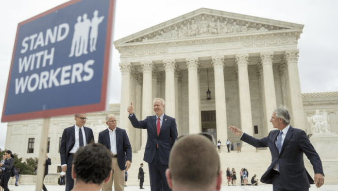 labor unions outside of SCOTUS