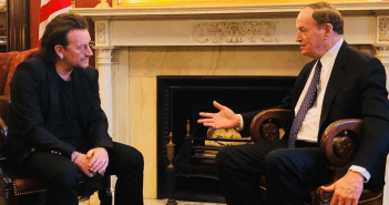 Richard Shelby sits down with legendary rock star Bono from U2