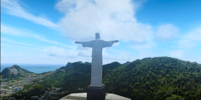 South America_cross Jesus