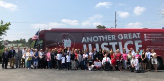 CWA bus tour