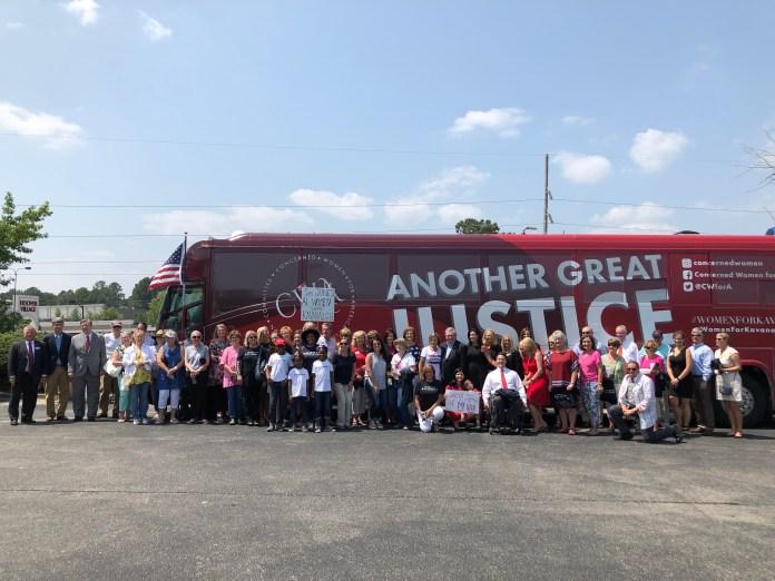 CWA bus tour