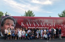 CWA Kavanaugh bus tour 2