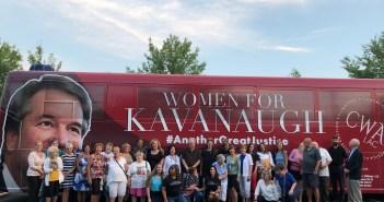 CWA Kavanaugh bus tour 2