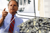 Doug Jones money