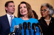 Nancy Pelosi, Eric Swalwell, Joyce Beatty