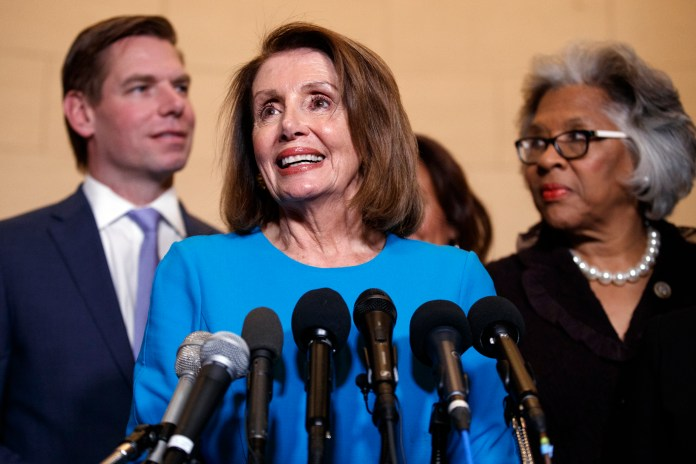 Nancy Pelosi, Eric Swalwell, Joyce Beatty