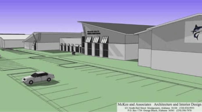 Proposed Orange Beach Middle School/High School