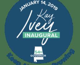Ivey inaugural logo