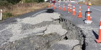 road in need of repair