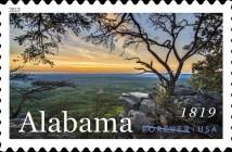 Alabama Centennial Stamp