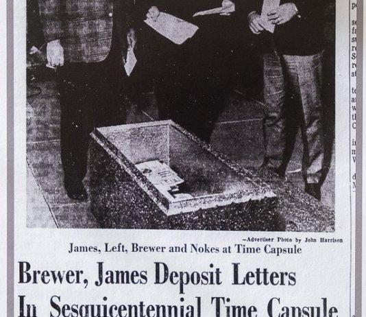 Montgomery time capsule