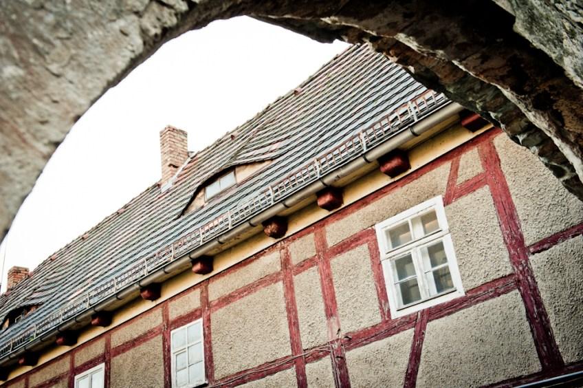Ansicht Südhaus vom Tor aus