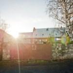 Ansicht Herrenhaus Scheune