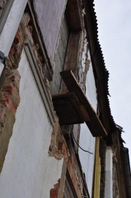 Außenwand Herrenhaus Nordseite