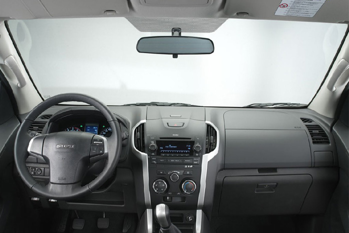 Der bliver valg mellem manuel og automatisk gearkasse, ligesom alle D-Max har firehjulstræk
