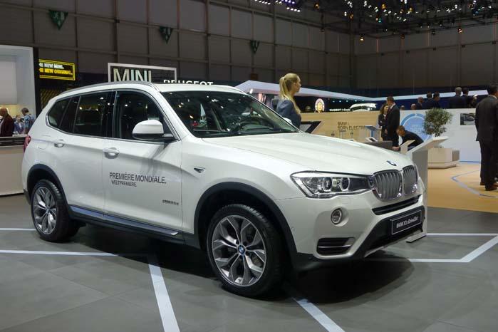 Blandt nyhederne hos BMW er en faceliftet udgave ad X3-modellen med ændringer af såvel eksteriør som af interiør. Noget som har bidraget til at gøre bilen mere helstøbt. Samtidigt er motorprogrammet styrket, da den turboladede 2,0-liter motor i den dieseldrevne 18d i stedet for 143 hk, nu yder 150 hk. Det maksimale drejningsmoment er 350 Nm ved blot 1.500 o/min. og holder op til 2.250 o/min. Dertil kommer en række udstyrsmæssige finesser.