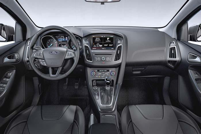 Ford med mere Focus på optimal indretning af førerpladsen og generelt lettere og mere sikker betjening af bilen.