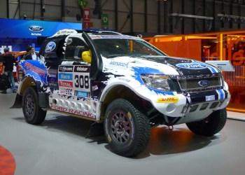 En rå Ford Ranger som rallybil? Jovist, den har da gennemført Dakar Rally!