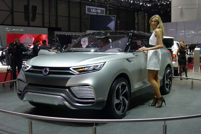 SsangYongs nye SUV-koncept XLV.