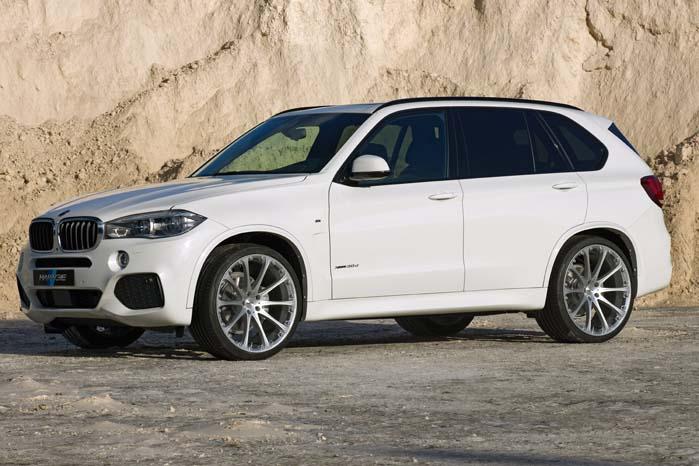 BMW X5 fint klædt på til virksomhedsbesøg med 23-tommer Hartge Classic 2-fælge.