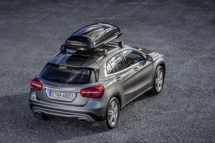 Udviklet som en SUV, men med den profil kan den sagtens gå for at være en alsidig stationcar.
