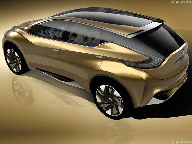 Og som Nissan Murano kan komme til at tage sig ud fremover.
