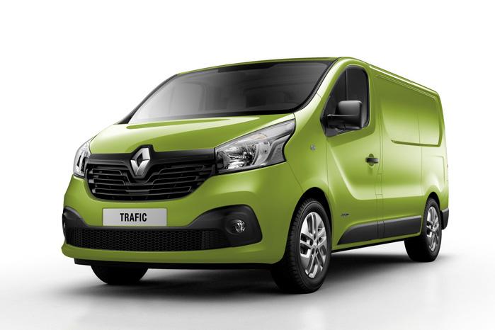 Selv om Renault ikke vinder en præmie for hverken farvevalg eller teknisk udførelse, aner man alligevel sammenhæng og forskelle fra Opel Vivaro