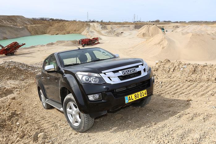 Nyeste indslag på Danmarks pickup-marked er Isuzu D-Max, som danskerne har taget pænt imod