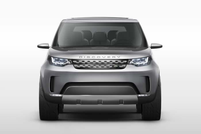 Land Rover stikker snuden frem mod en fremtid med grænsedragende teknologi.