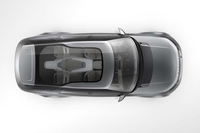 Discovery Vision Concept er forløber for næste års introduktion af den nye Discovery Sport.