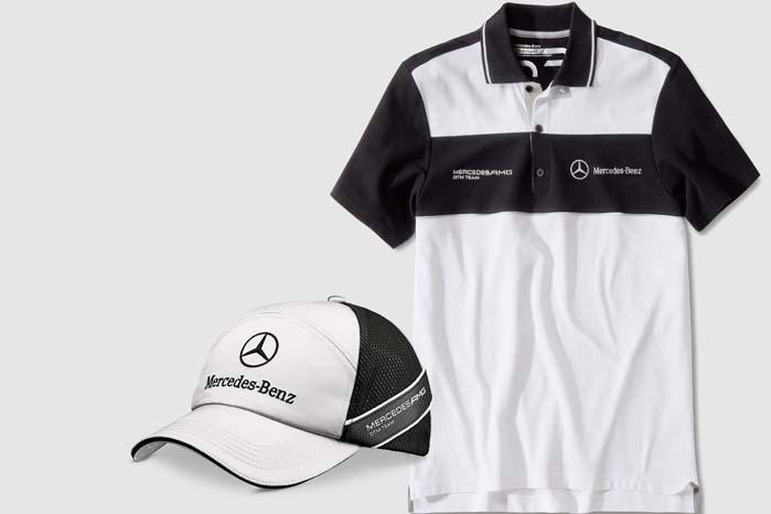 Kollektionen omfatter flere slags T-shirts og caps både til ham og hende.
