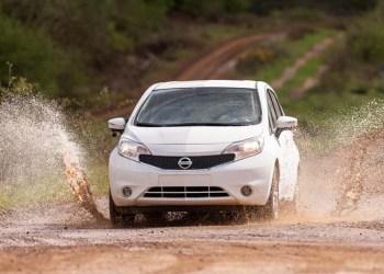 Nissan Note - både ren og beskidt på én gang.