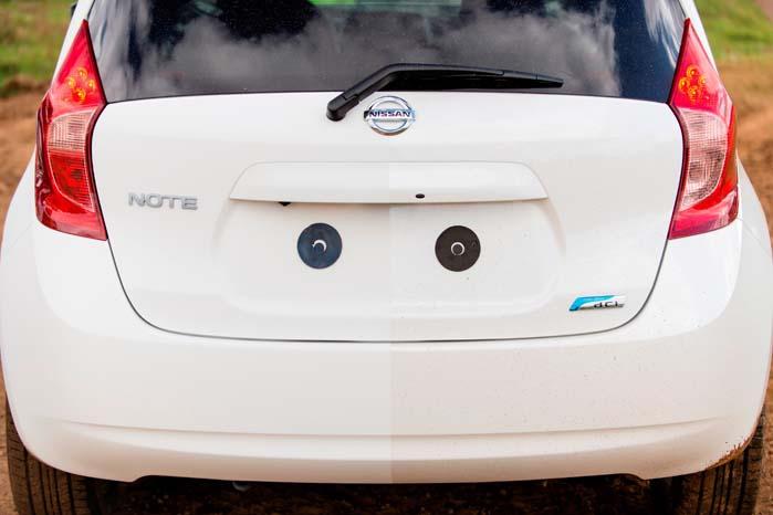 Turbulenser bag biler har det med at svine hele bagpartiet til, men selv dér vil en nano-coating bidrage til at holde snavs på afstand.